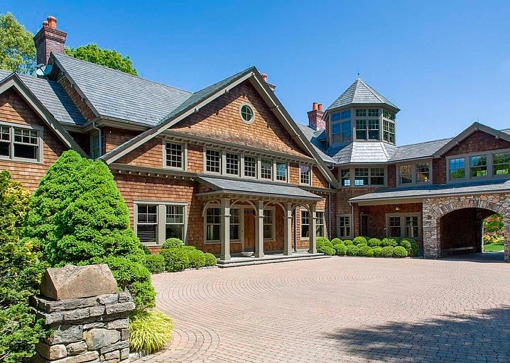 Bruce Willis home in Bedford, NY