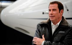 John Travolta Home with airport